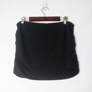 Free People Ruched Mini Skirt